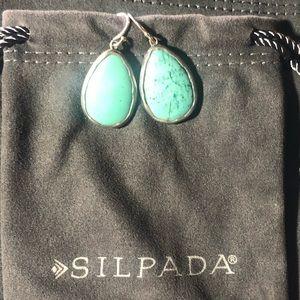 Silpada - W3159 Make a Splash Earring 1 1/2 length